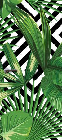 deurdesign patroon groen