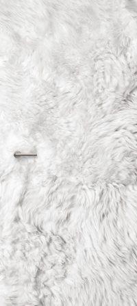 deursticker faux fur