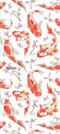 trendy Deursticker koi